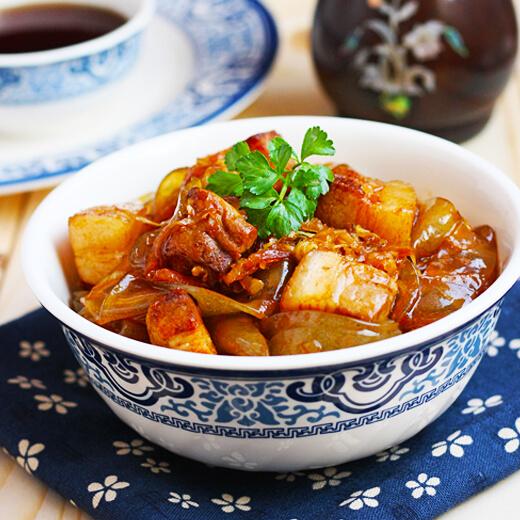 酸菜大肉炖粉条