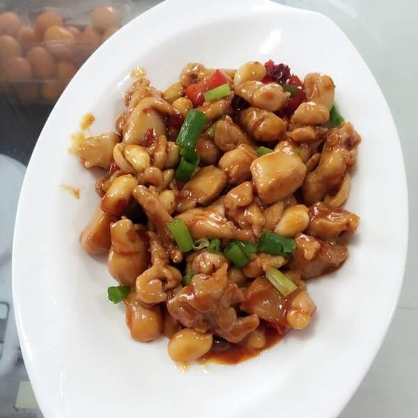 宫爆鸡丁豆腐