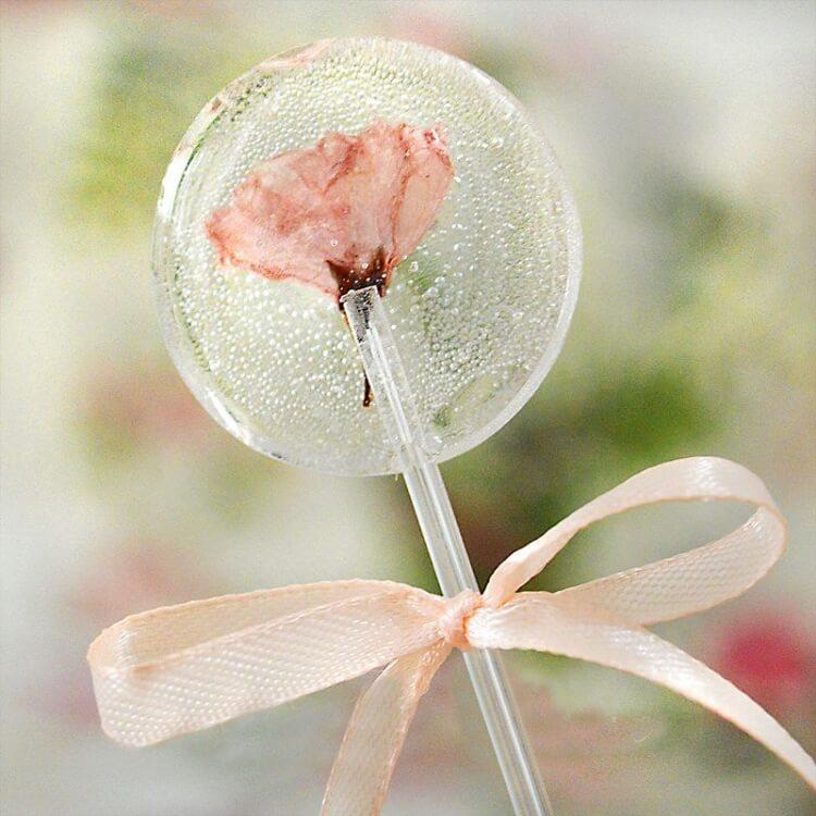 好吃的樱花棒棒糖