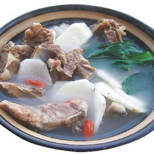 美味营养山药骨头汤