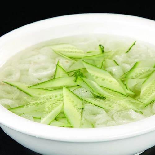 青瓜肉糜汤