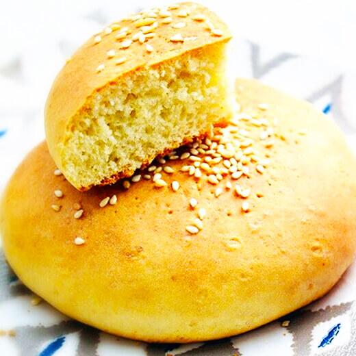 橄榄油椰香芝麻饼