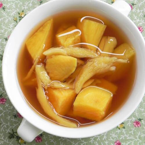 有特色的姜汁蕃薯汤