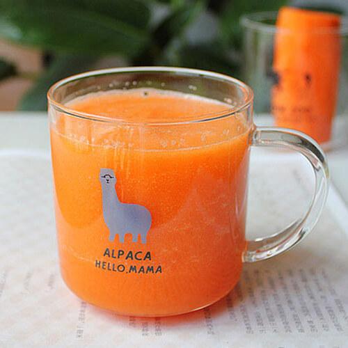 胡萝卜蜂蜜果汁