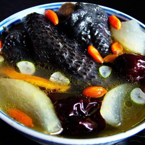 胡萝卜乌鸡汤