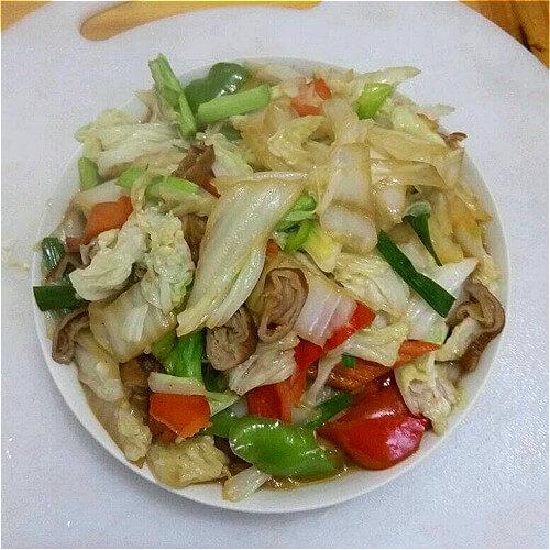 白菜烧大肠