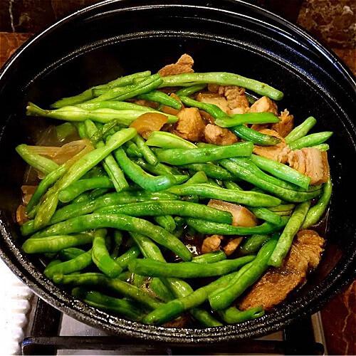 好吃的洋葱味瘦肉豇豆