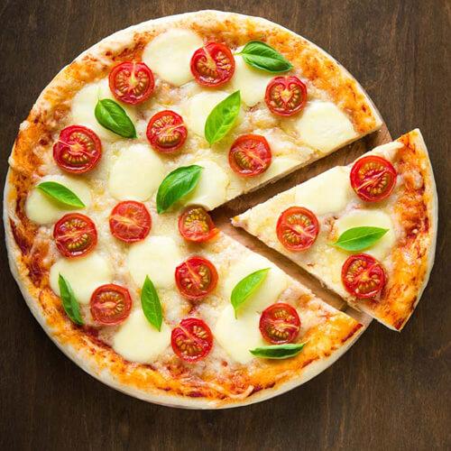 鲜香的韩式五花肉披萨