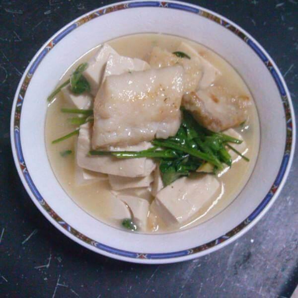 美味的清炖红豆腐