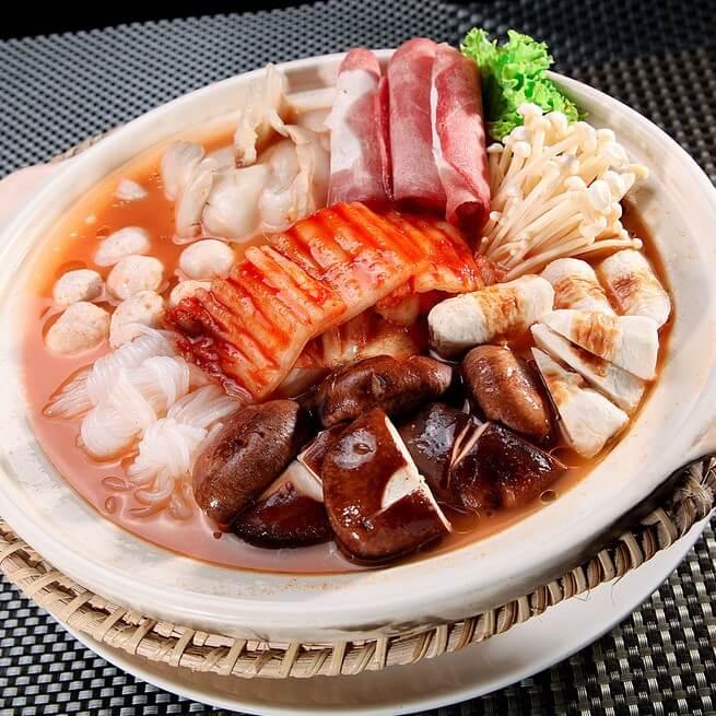 绝对好吃的韩式什菜锅