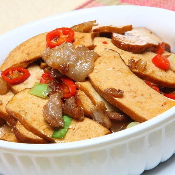熏香干炒肉片
