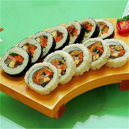 泡菜芝士寿司