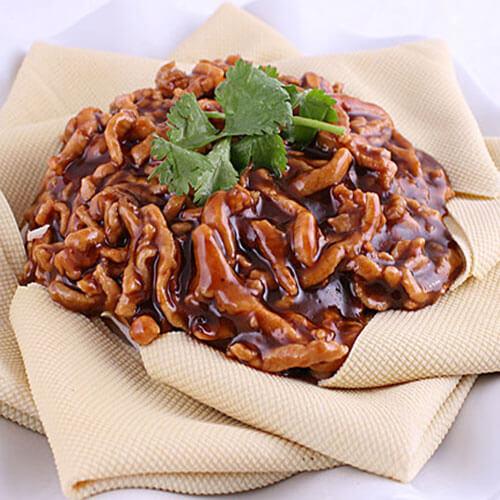 美味的简易版京酱肉丝