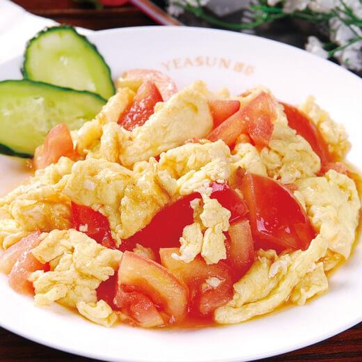 简版番茄炒蛋