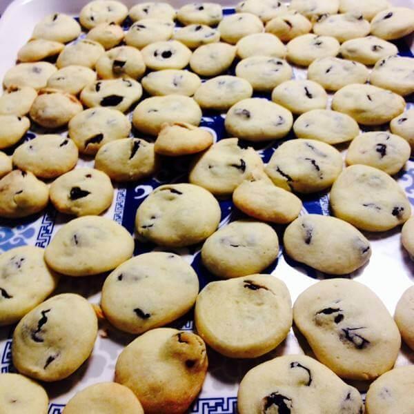 黑豆葡萄干饼干