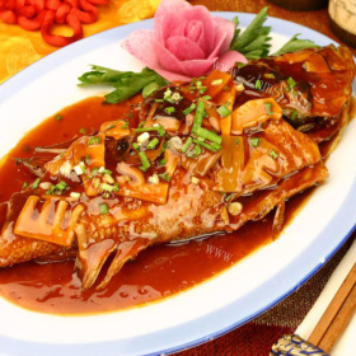 咸橄榄蒸鱼