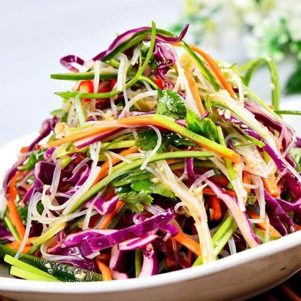 紫甘蓝凉菜