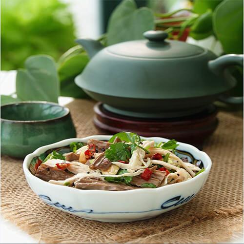 黑豆腐竹拌鸡丝