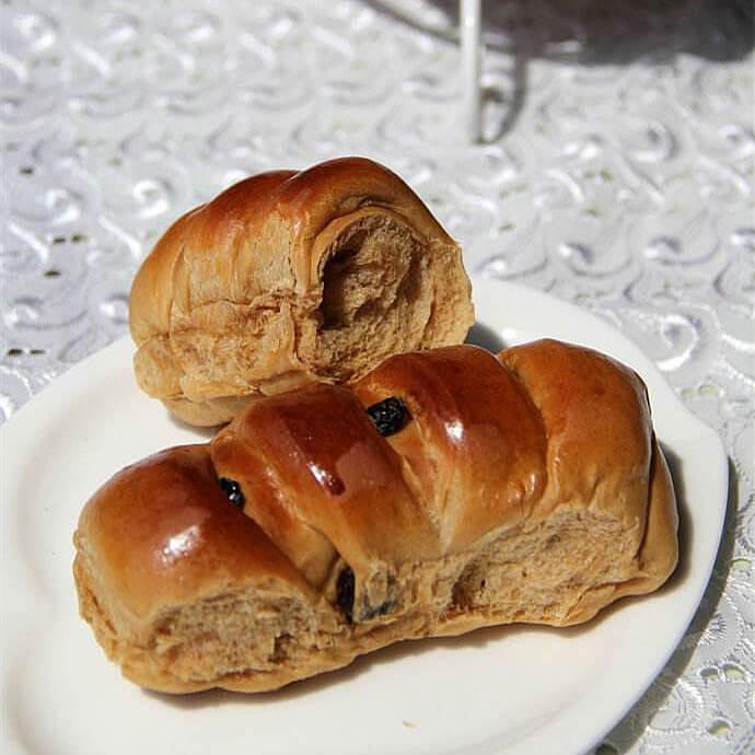 红糖酥皮养生面包