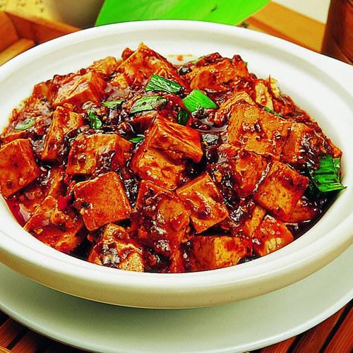 正宗四川麻婆豆腐