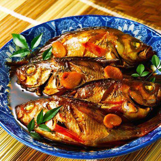 北方红烧鱼