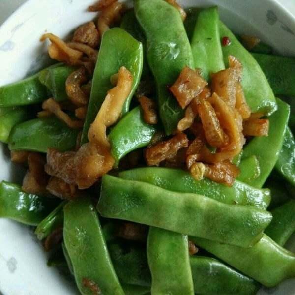 肉炒扁豆角