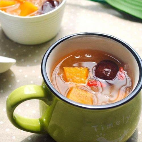 银耳木瓜红枣汤