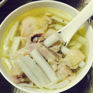 美味的老椰煲鸡汤