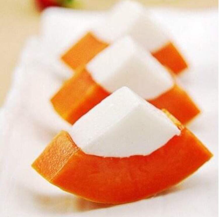 木瓜奶冻沙拉