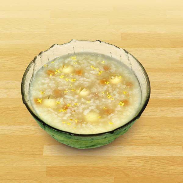 大米桂花粥