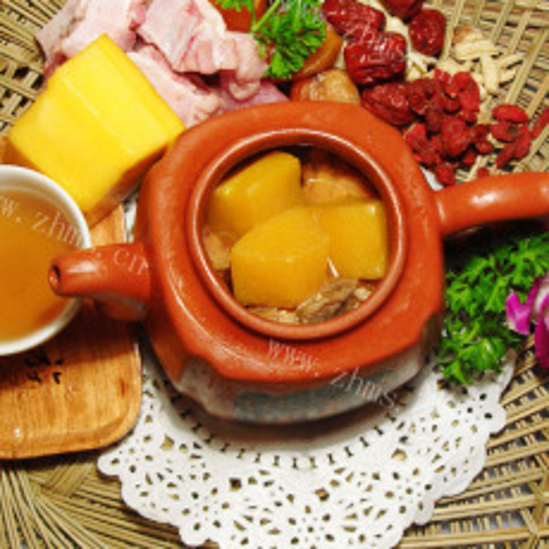 酸味木瓜汤