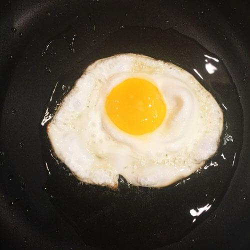 美味的迷你荷包蛋