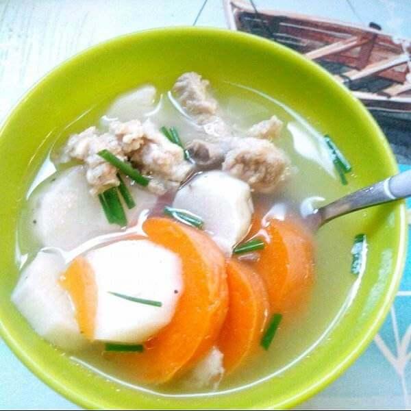排骨煲山药豆芡实汤