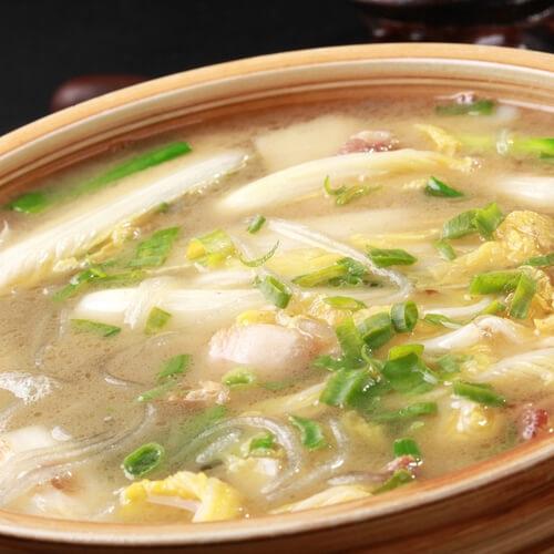 冻豆腐白菜粉条汤