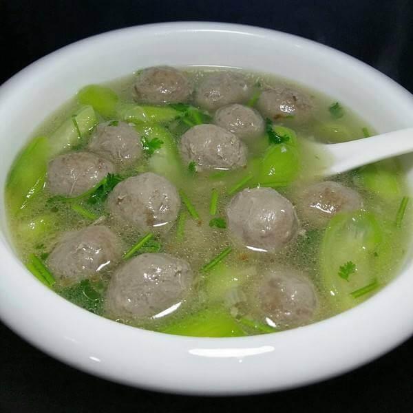 牛肉丝瓜汤