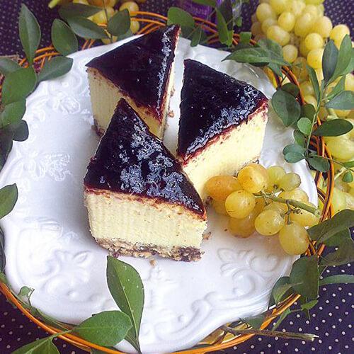桑葚酱蛋糕