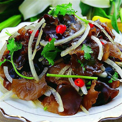 木耳洋葱黄瓜炒肉片