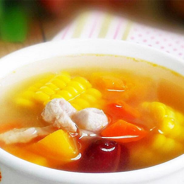 淮山玉米煲瘦肉汤
