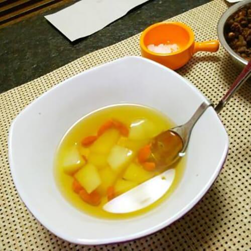 枇杷花苹果梨糖水