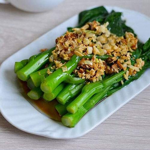 蒜香青菜-简单版