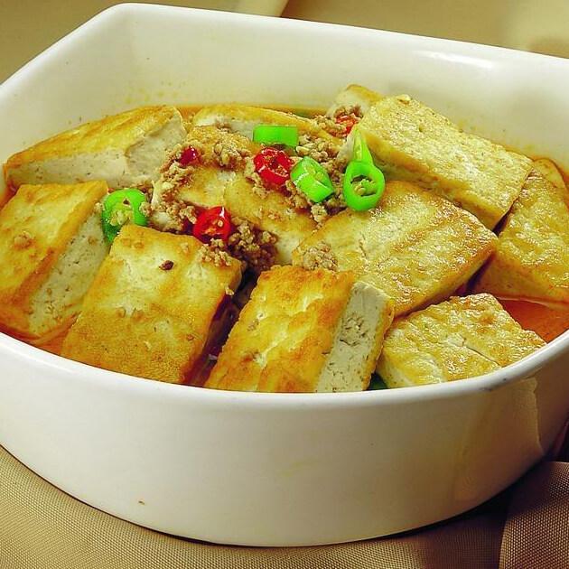 香煎水豆腐
