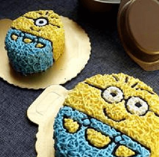 美味小黄人亲子蛋糕