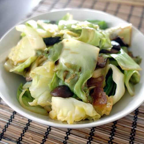 香菇烧白菜