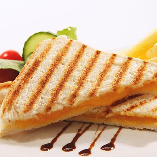 芝士沙拉三明治