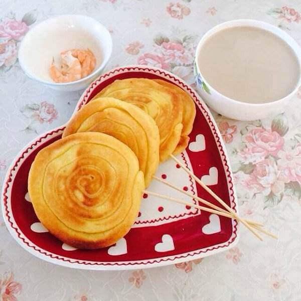 粗粮烙玉米浆饼