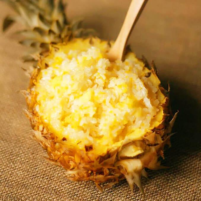 糯香菠萝饭