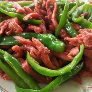青椒炒牛柳