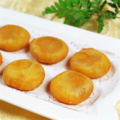 蒸松花蛋糕