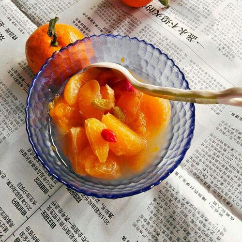 橘子山楂罐头