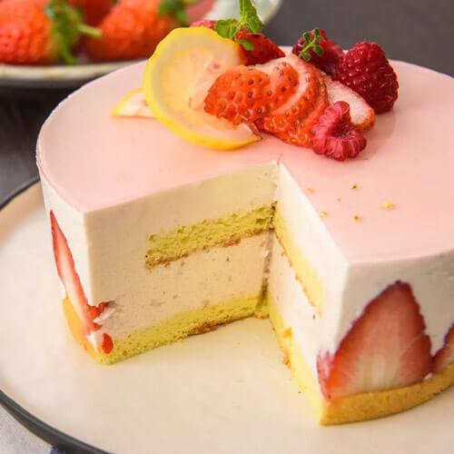 自制茄红素戚风蛋糕